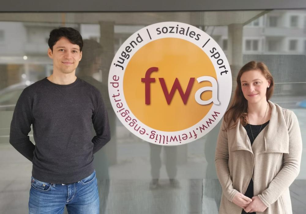 Stephan Gerhardt und Steffi Elina Bischoff wollen die deutsche Sprache per Ehrenamt vermitteln.