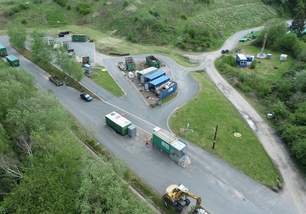Die Müllumschlagstation Bornhausen wird ab dem 1. April vorübergehend geschlossen.