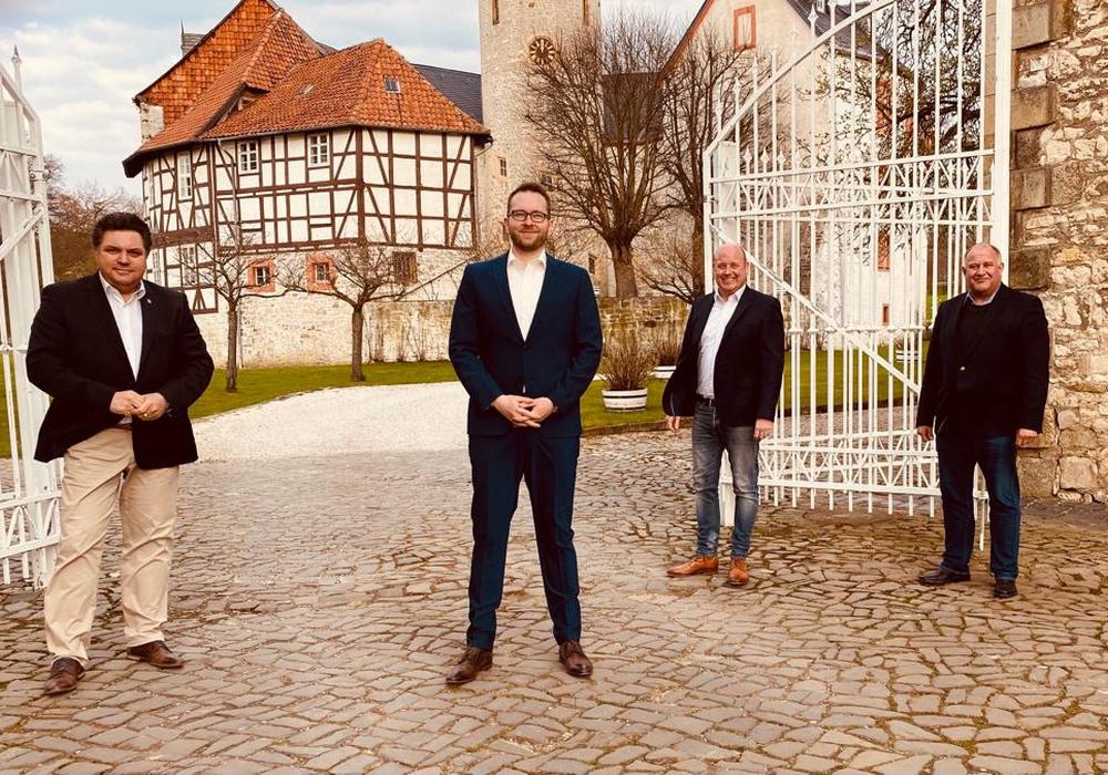 Von links: Uwe Schäfer, Frederik Brandt, Holger Bormann und Norbert Löhr.