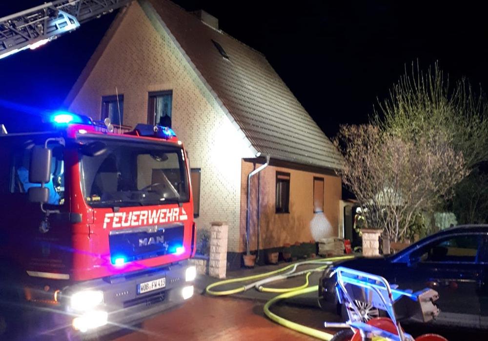 Die Feuerwehr wurde in die Vorsfelder Südstadt gerufen.
