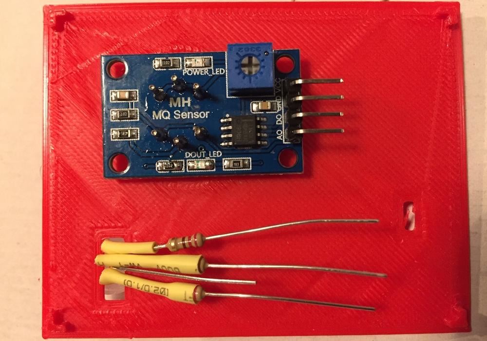 Das Herzstück des Luftgüterwarners ist ein Arduino-Board.