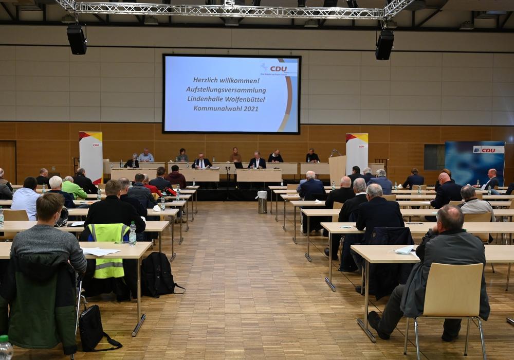 Die Mitglieder des CDU-Stadtverbandes haben ihre Kandidaten zur Kommunalwahl aufgestellt.