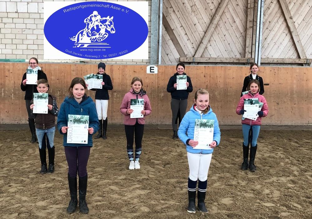 Die Teilnehmer konnten ihre Prüfungen trotz Corona ablegen.