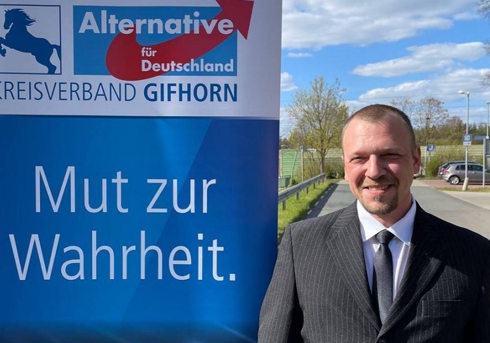 Dominik Lebendig tritt zur Wahl an.
