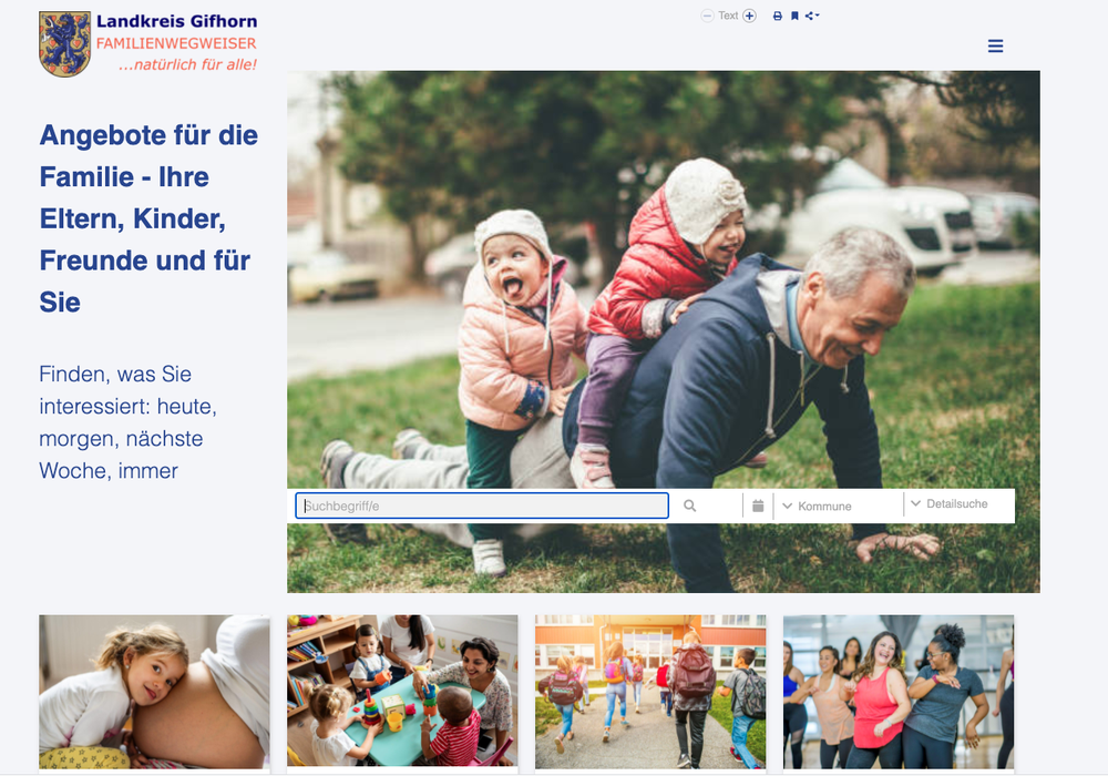 Der neue Familienwegweiser für den Landkreis Gifhorn.