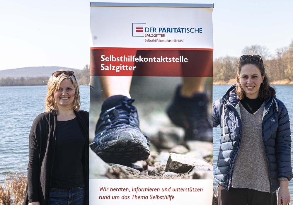Irina Ermakov und Almut Speer von der Kontakt- und Informationsstelle für Selbsthilfe (KISS).