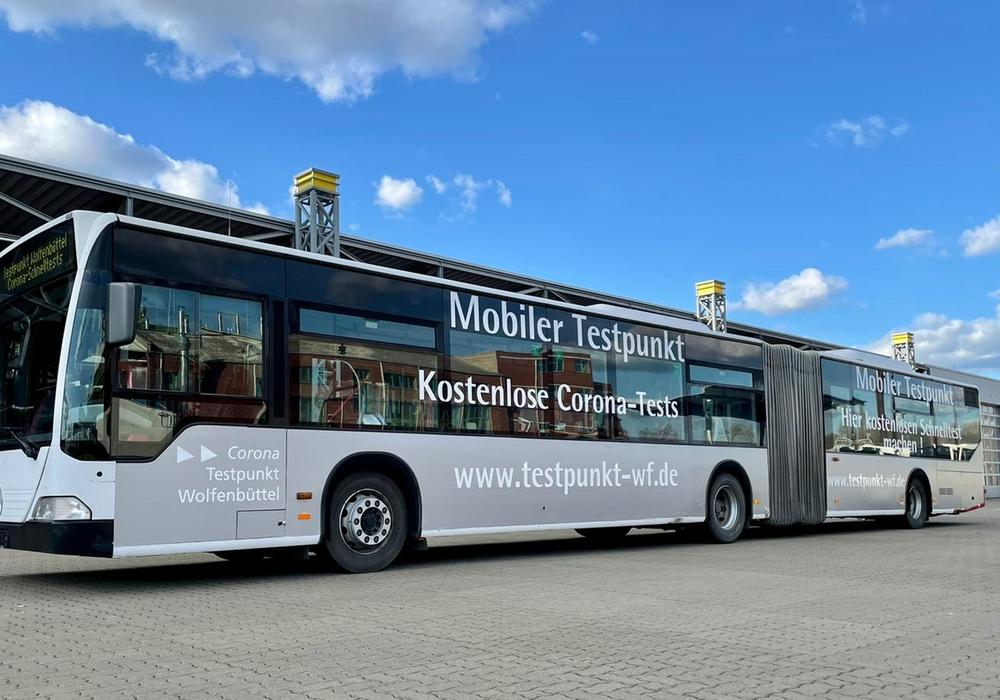Ein mobiler Testbus fährt künftig durch den Landkreis Wolfenbüttel.