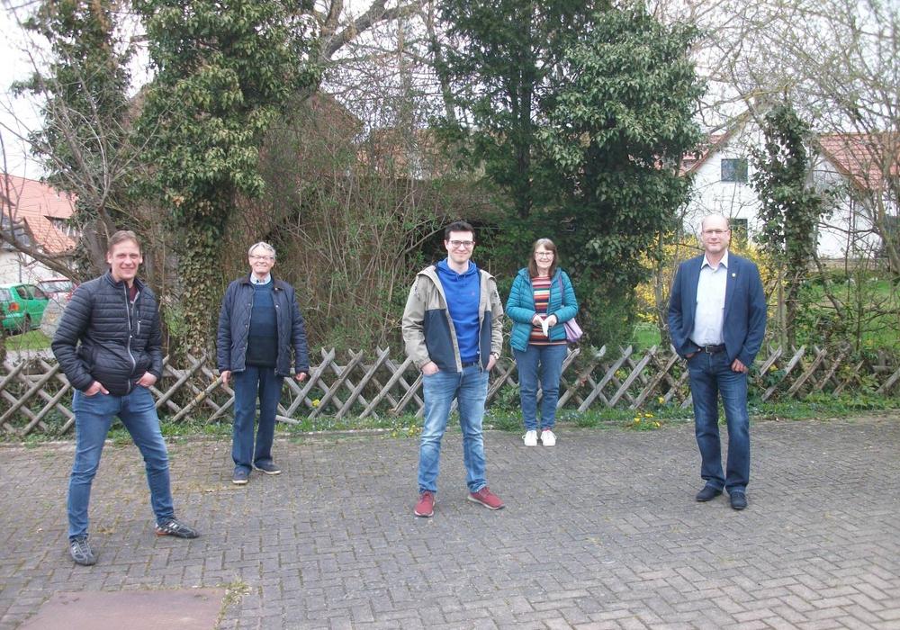 Kai Jacobs, Dr. Manfred Bormann (beide CDU), Max Weitemeier (FDP), Annegrit Helke, Ingo Geisler (beide CDU)