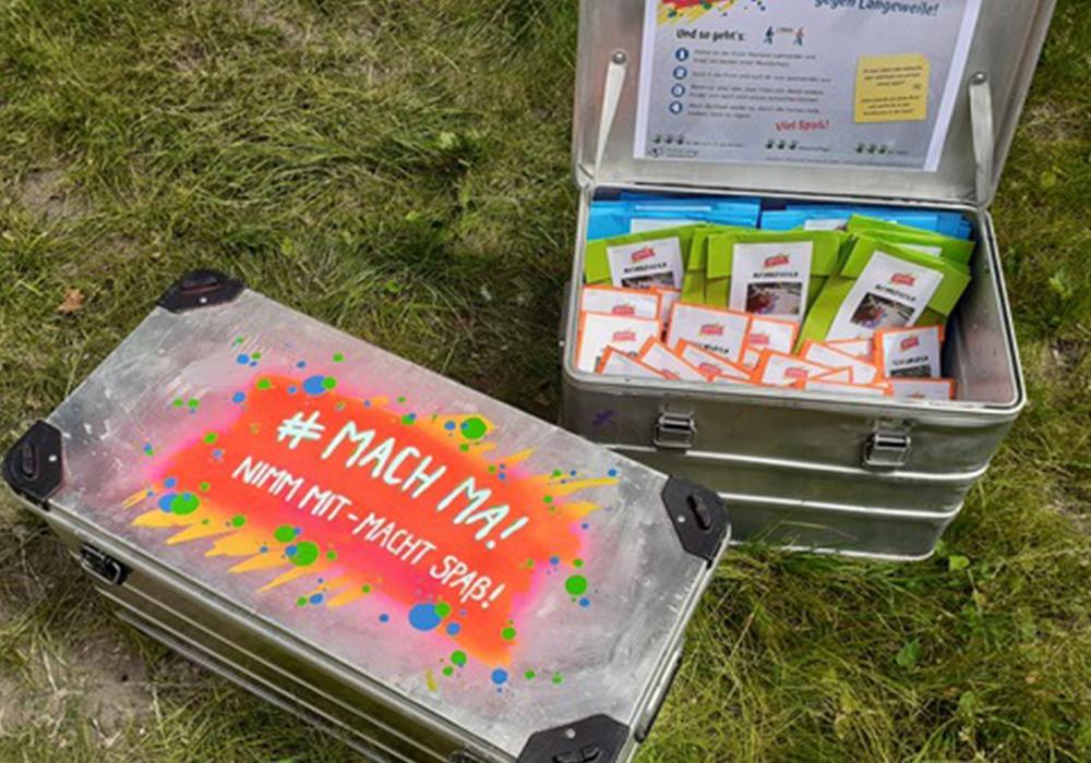 Die MACH MA! Kisten sind jetzt an neuen Standorten zu finden.