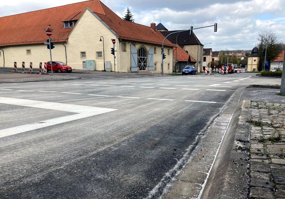Die Kreuzung Am Ludgerihof/Türkentor