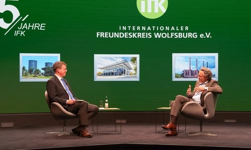 Dr. Jörg Dräger im Gespräch mit Armin Maus.