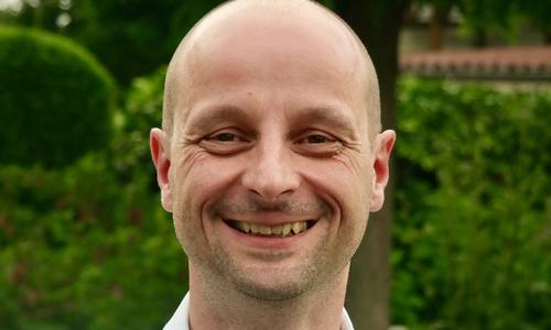 Mathias Schlawitz, Landratskandidat der Grünen in Goslar.