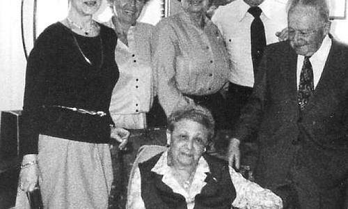 Die Familie Kirchheimer 1979 vereint in New York. Sie alle überlebten den Holocaust.