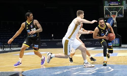 Basketball Löwen gegen Ludwigsburg.