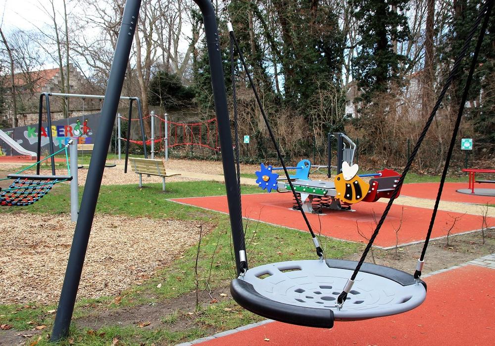 Ein Ort für alle und Spielgeräte für Kinder mit und ohne Beeinträchtigung soll der Kaisertreff nach Willen der Lebenshilfe Braunschweig werden