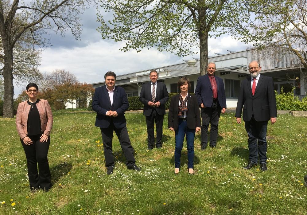 Die fünf Ersten auf den Listen der CDU mit Fraktionschef Uwe Lagosky. Von links: Sarah Grabenhorst-Quidde, Uwe Schäfer, Uwe Lagosky, Heike Kanter, Frank Oesterhelweg und Michael Wolff.