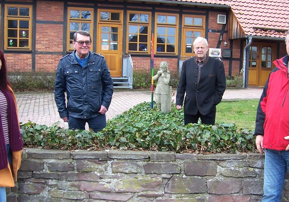 Frischen Wind wollen Friederike Sasse (von links), Horst Grigat, Hermann Eikenloff und Peter Tenscher in den Ortsrat Barbecke bringen.