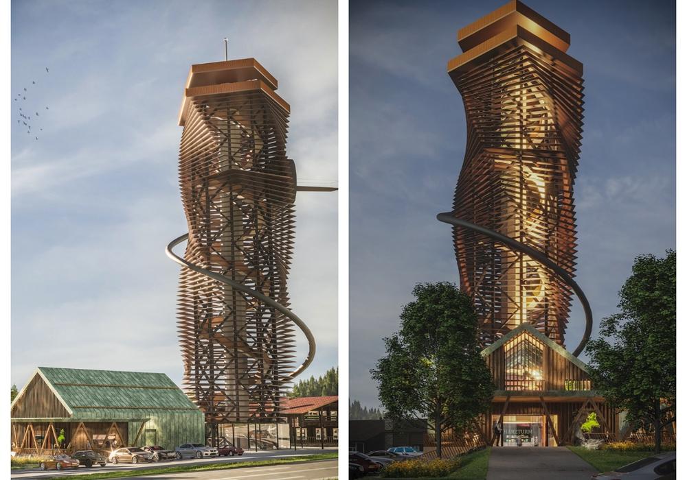 Ab Frühjahr 2022 soll der neue Turm Touristen zum Torfhaus locken.