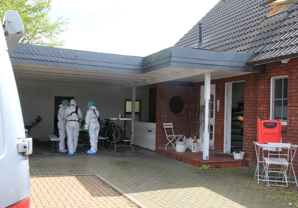 Eine Hausdurchsuchung fand am heutigen Dienstag in Othfresen statt.