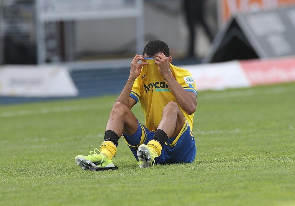 Nach dem Spiel war die Enttäuschung groß.