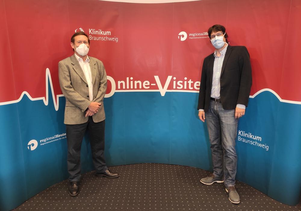 Professor Dr. Dieter Hellner und Professor Dr. Andreas Gerstner beantworten die Fragen der regionalHeute.de Leser.