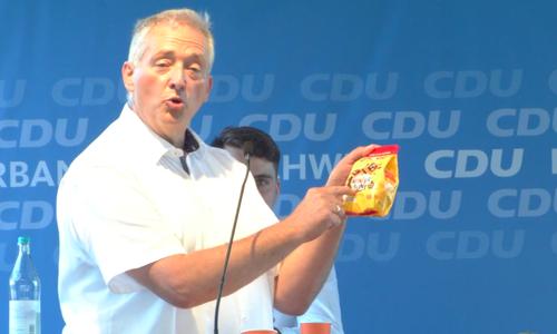 Vergessen? Frank Oesterhelweg fühlt sich bei der Farbauswahl der Kekse diskriminiert.