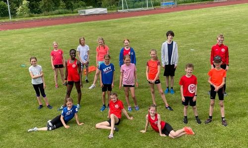 Die Leichtathleten des MTV Wolfenbüttel