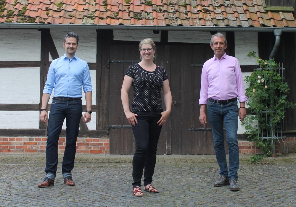 Pierre Balder, Christina Balder und Ralf W. Eilers.