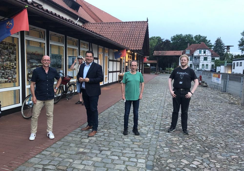 Detlef Eichner, Tobias Heilmann, Arne Duncker und Andreas Mantzke (v. li.).