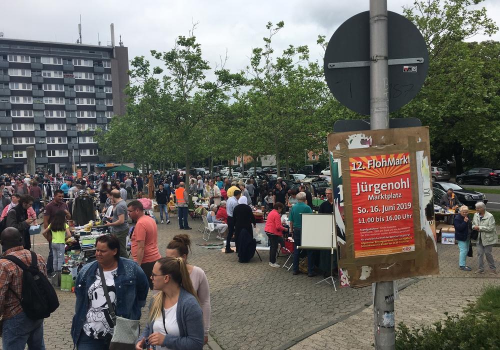 Der Flohmarkt im Jahr 2019.