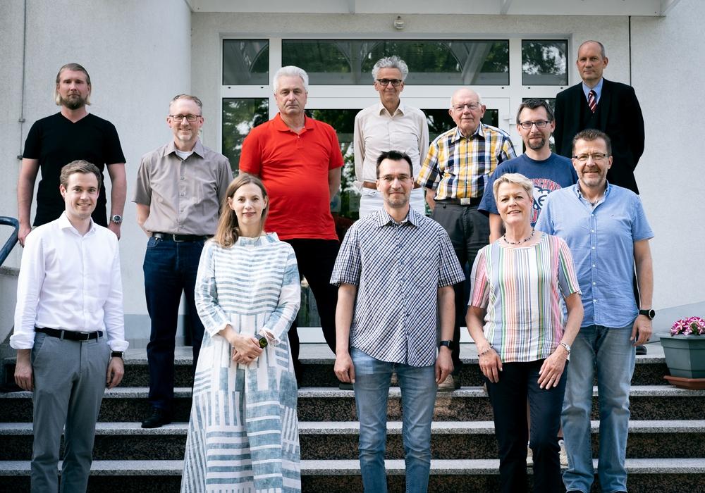 """Die """"Listenführer"""" der FDP für die Kreistagswahlbereiche sowie für die Städte- und Gemeindeebene."""