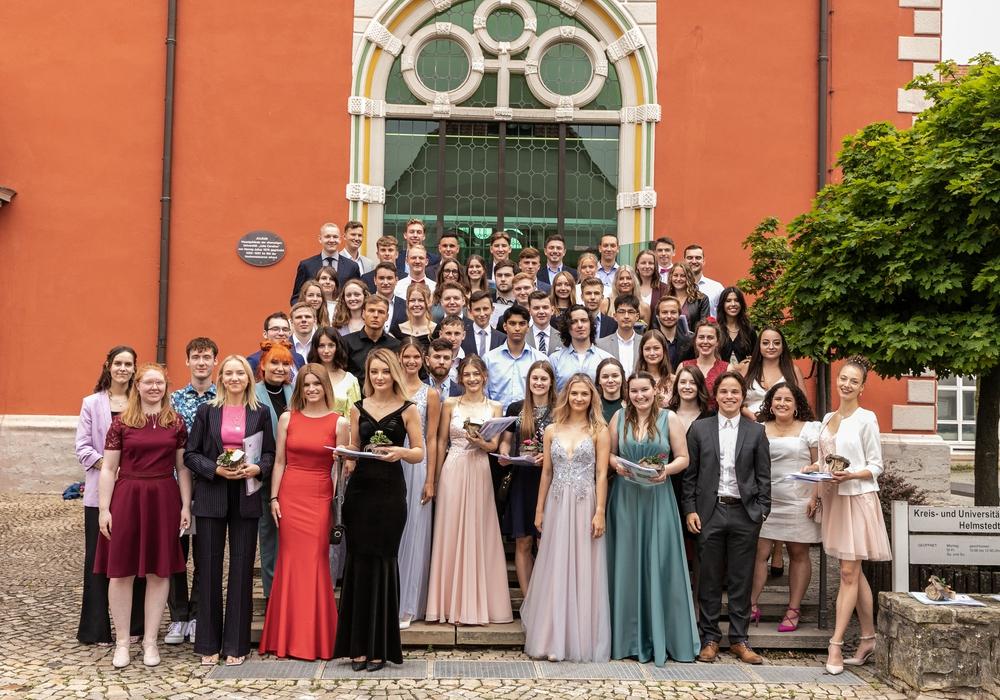 62 Abiturienten konnten in diesem Jahr auf den Gymnasium am Bötschenberg ihre Abschlusszeugnisse entgegenehmen.