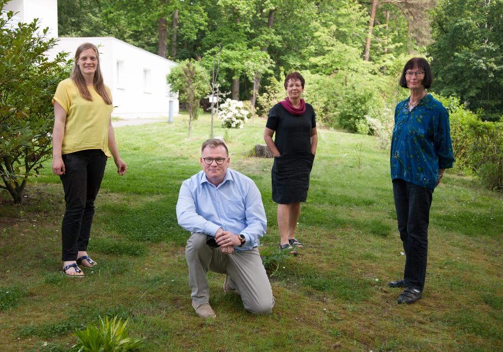 von links: Rebekka Spanuth, Axel Schliephake, Barbara Hansmann, Sybille Mattfeldt-Kloth