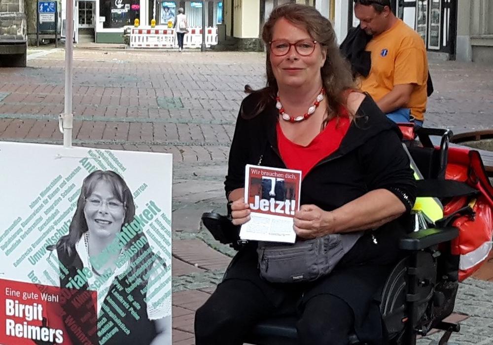 Birgit Reimers tritt für die Linken zur Kommunalwahl an