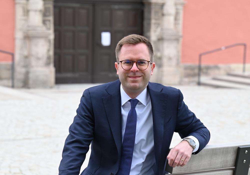 Der CDU-Bürgermeisterkandidat Adrian Haack.