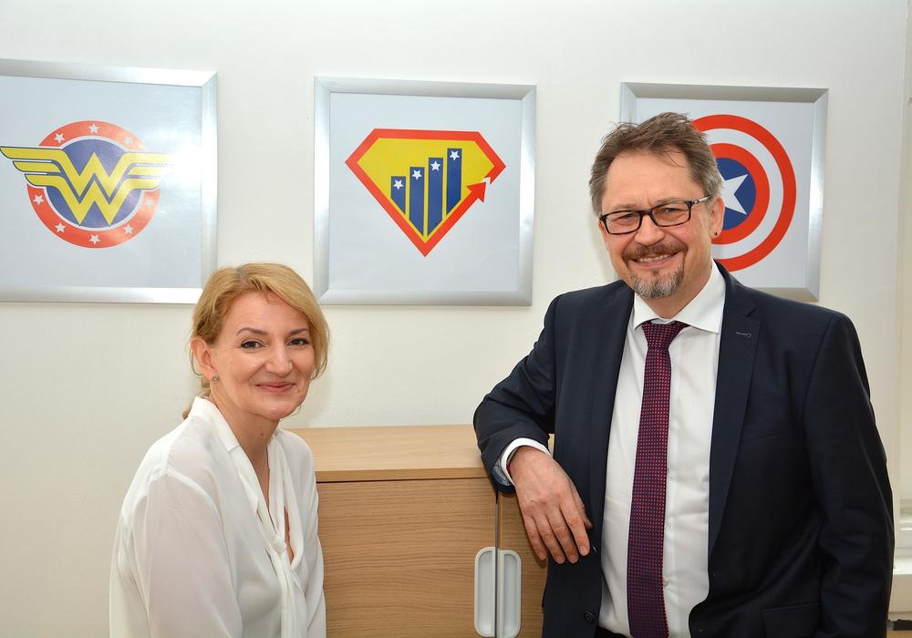 Karima Berrahou und Jens Uphoff haben in Wolfenbüttel ihr Unternehmen gegründet – und eine neue Testmethode entwickelt.