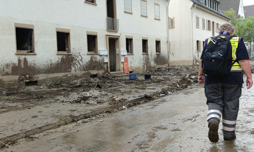 Das DRK Peine ist im Hochwassergebiet im Einsatz.