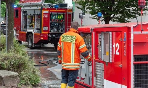 Das HFS-System mit einem Katastrophenschutz-Löschfahrzeug aus Göttingen.