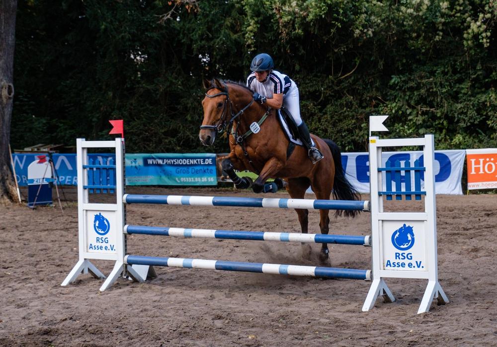 Little Foot mit Reiterin Ina Hoffrichter ist auch in diesem Jahr wieder am Start.