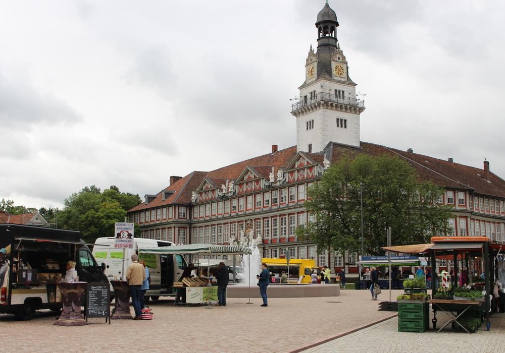 Der Wochenmarkt soll für das Street Food Festival auf den Stadtmarkt umziehen. Die Standbetreiber boykottieren das nun.