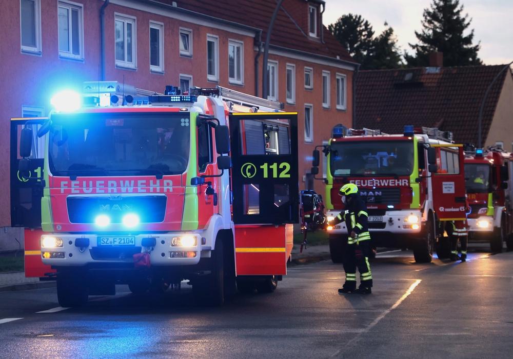 Die Feuerwehr rückte zu einem Einsatz am Pappeldamm aus.