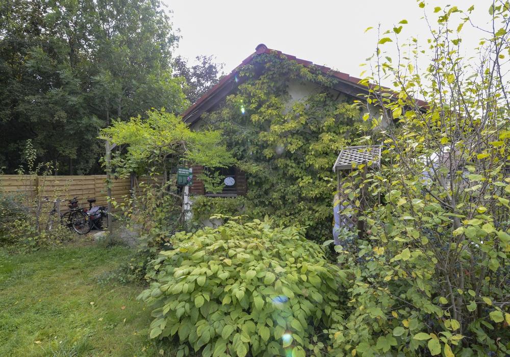 """Die Vereinshütte im Kleingartenverein """"Rote Schanze"""""""