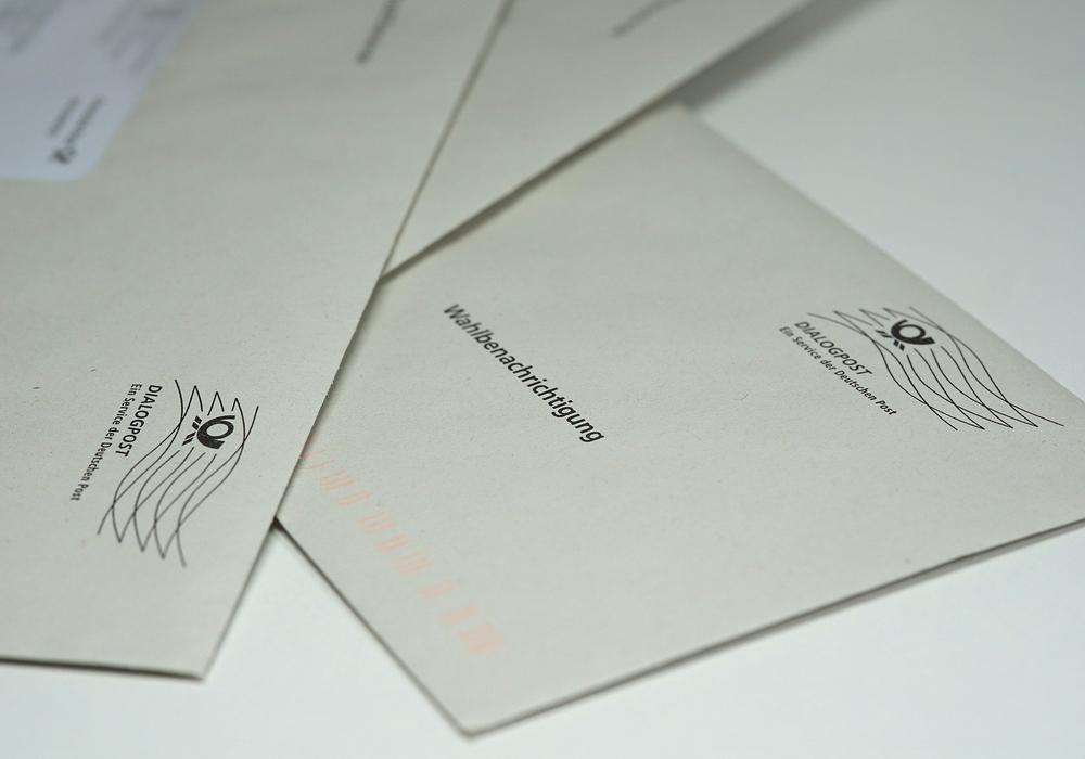Die Verteilung der Wahlbenachrichtungsbriefe in Goslar hat begonnen.