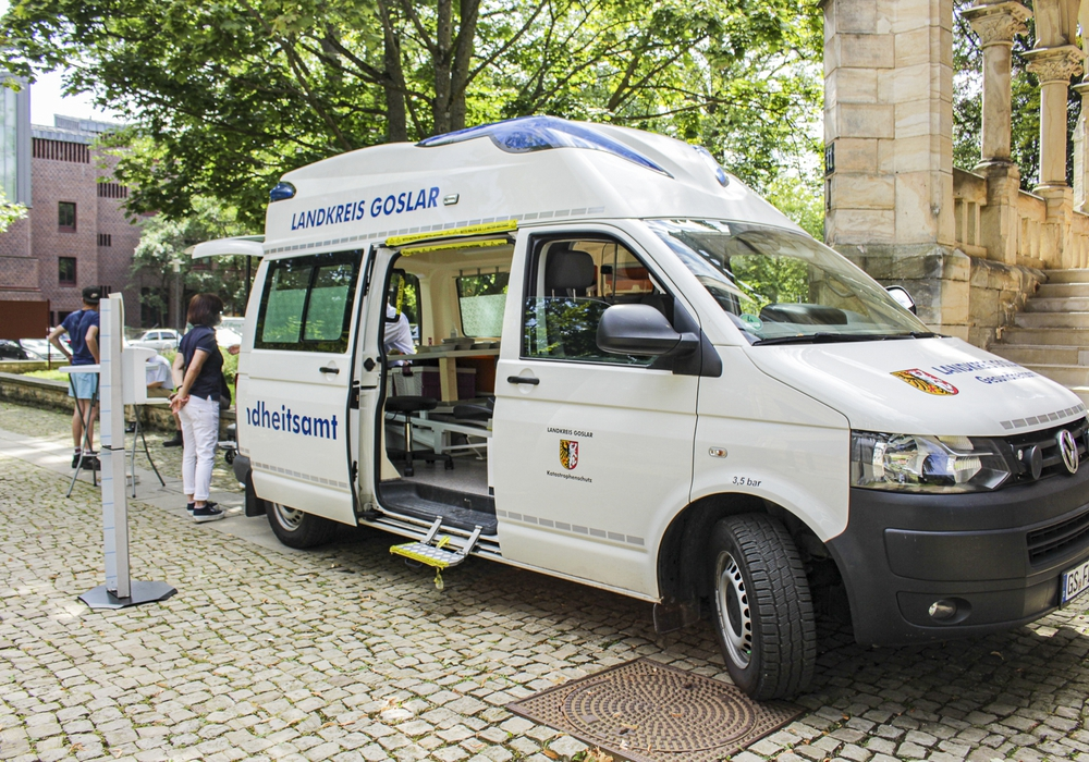 Das Impfmobil vom Landkreis Goslar