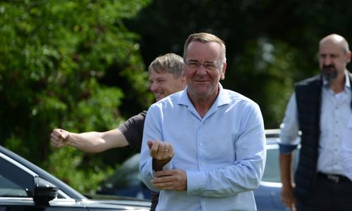Der Innenminister zu Besuch am Salzgittersee