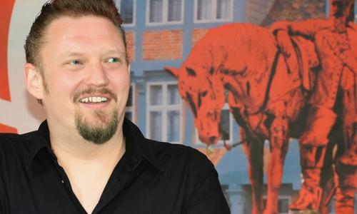 André Owczarek, Mitglied des Stadtrates Wolfenbüttel für die Linke