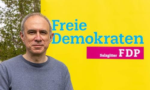 Sascha Schneider, Kreisvorsitzender der FDP Salzgitter