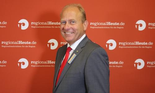 Gerhard Radeck (CDU) hofft auf eine zweite Amtszeit als Landrat.