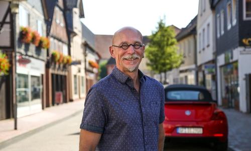 Der parteilose Dr. Detlef Eichner will am 12. September zum Landrat gewählt werden.