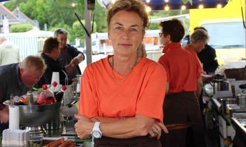 Silvana Preuße vom Piske-Imbissstand kritisiert das Vorgehen der Stadt massiv